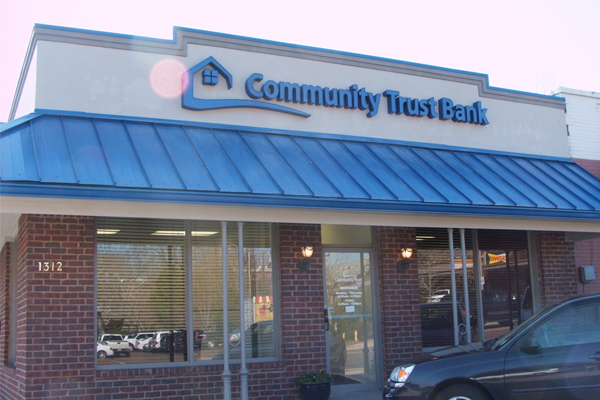 Community Trust Bank Channel Letters