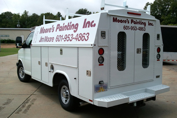 Custom High Performance Vinyl Lettering and Logos, Installed on Customer Vehicle